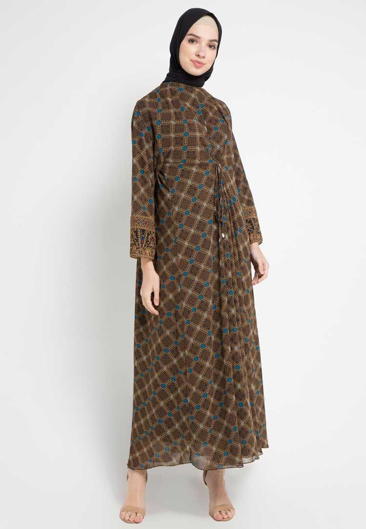 Model Gamis Batik Kombinasi Utk Usia 10 Thn  Model pakaian, Model