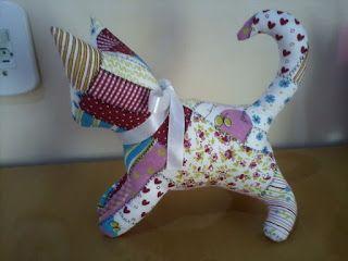 Don'na du lar: PAP de gatinho de tecido
