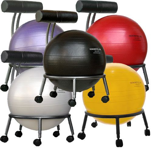 Bosu Ball Chair: I've Used One Of These At My Desk For Years... Super