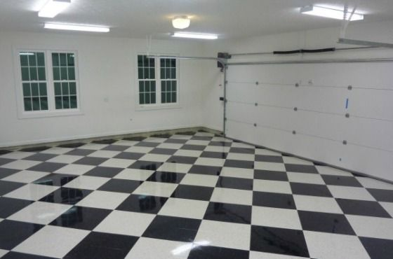 The Benefits of Vinyl Composite Tile (VCT) Garage Flooring | All Garage Floors