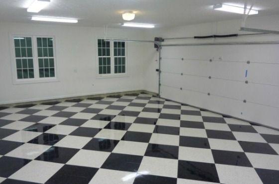 Vct Tiles All Garage Floors Vinyl Garage Flooring Garage
