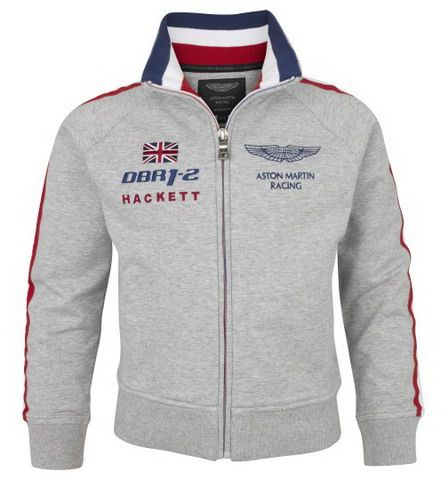 polo ralph lauren discount Hackett London Aston Martin Racing DBR1-2  Sweatshirt Grey http: