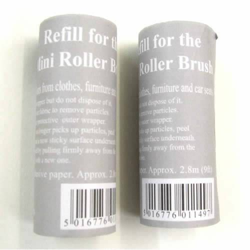 Refills for Mini Pocket Size Roller Brush-Price £0.75   #RollerBrushes #LintRollers