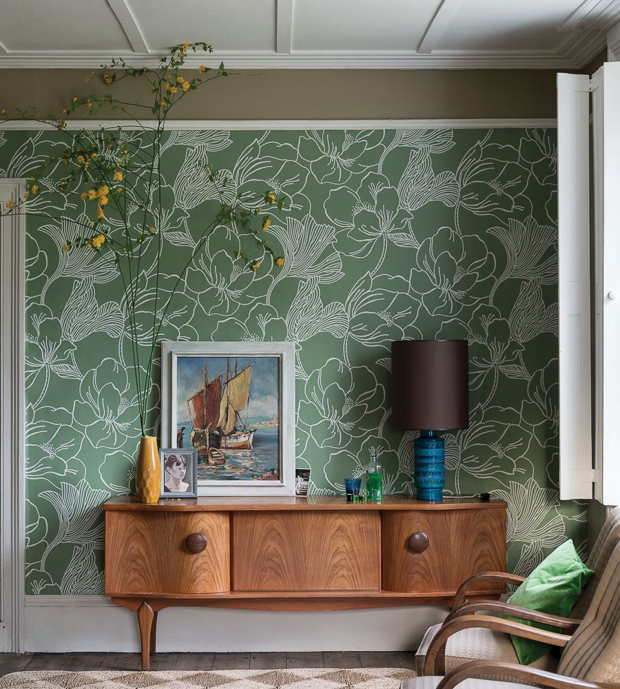 10 Mid-Century Modern Wallpaper Ideas That You Will Love ...