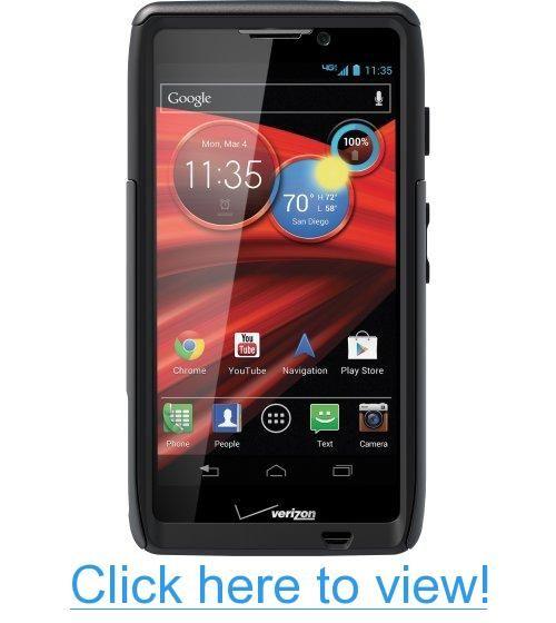OtterBox Commuter Series Case for Motorola RAZR MAXX HD - Retail Packaging - Black