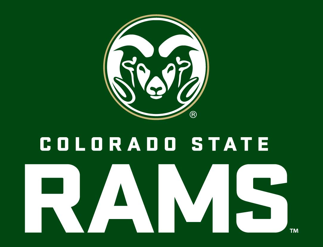 Colorado Sports Logos Colorado State Rams Secondary Logo Ncaa Division I A C Ncaa A C Colorado Colorado State University Word Mark Logo