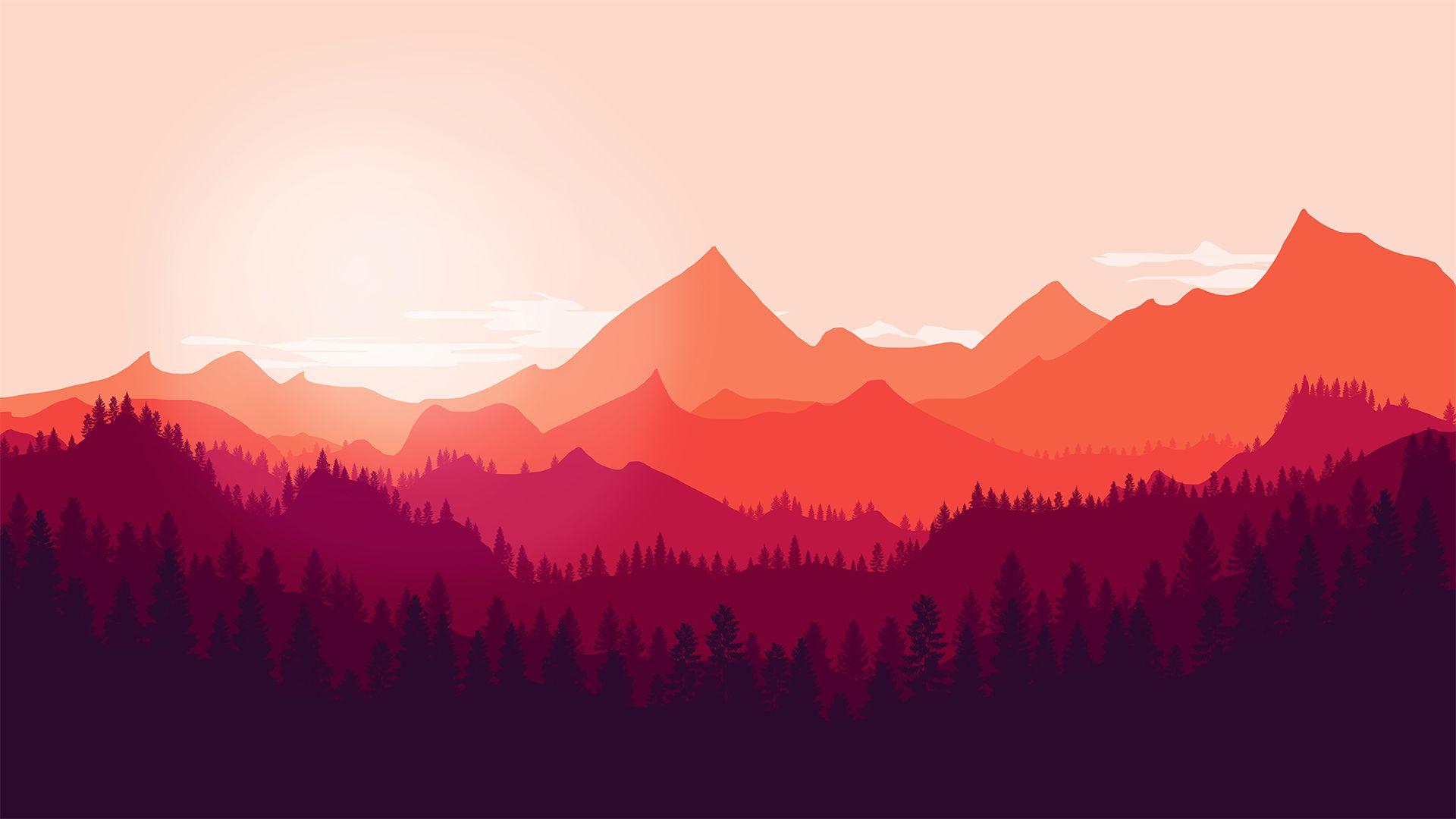 Related Image Landscape Illustration Landscape Artwork Wallpaper