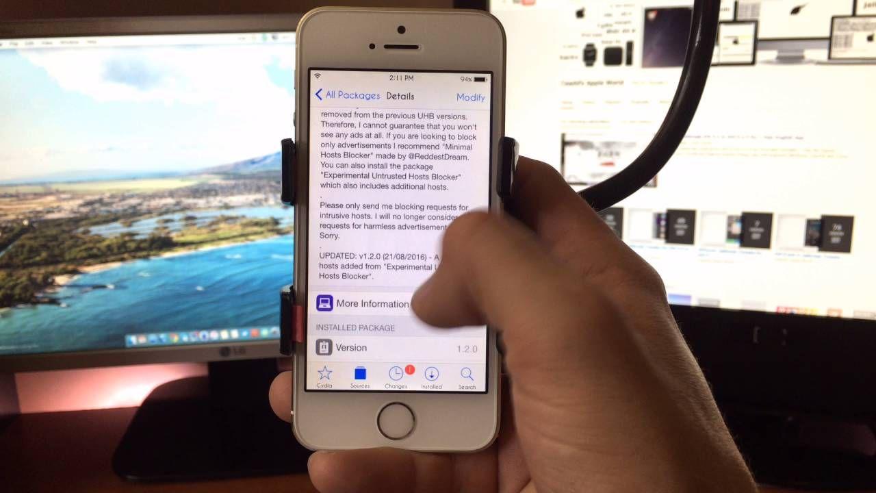 Best iphone ad blocker ios 9 untrusted host blocker