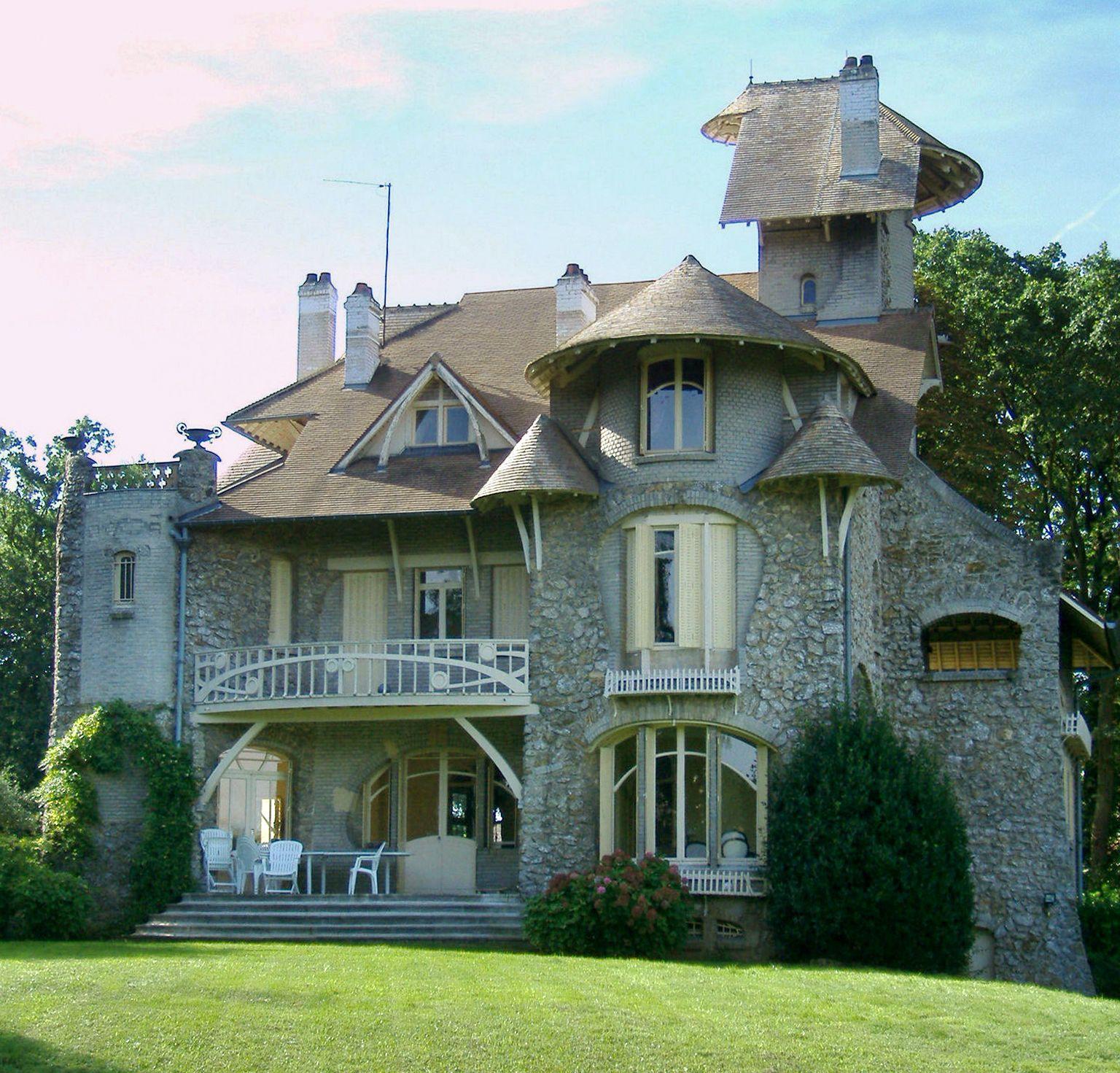 Le Castel Orgeval - Hector Guimard 1904 Art Nouveau