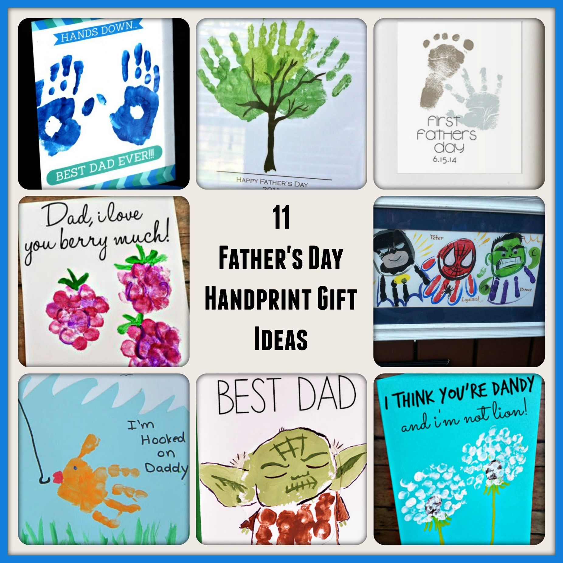 Check Out These Easy And Meaningful Gift Ideas Using Childrens