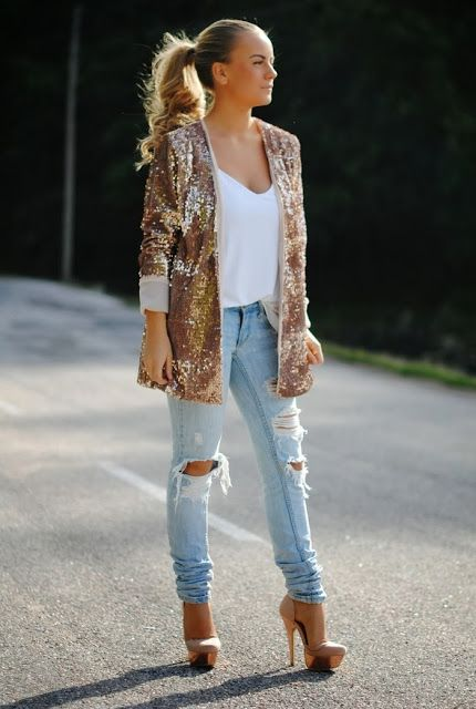 Fashion Cognoscente: Trend Alert: Ripped Jeans + Distressed Denim