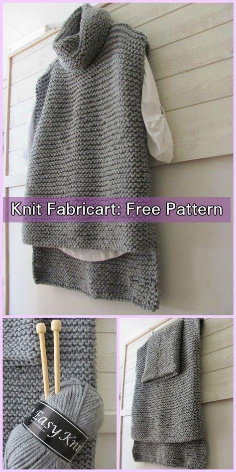 Photo of Easy Knit Women Sweater Vest Free Knitting Pattern – #Easy #Free #Knit #KNITTING…