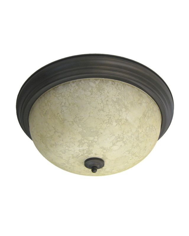 Epiphany lighting gu104546 orb three light energy efficient gu24 fluorescent flush mount in oil rubbed bronze