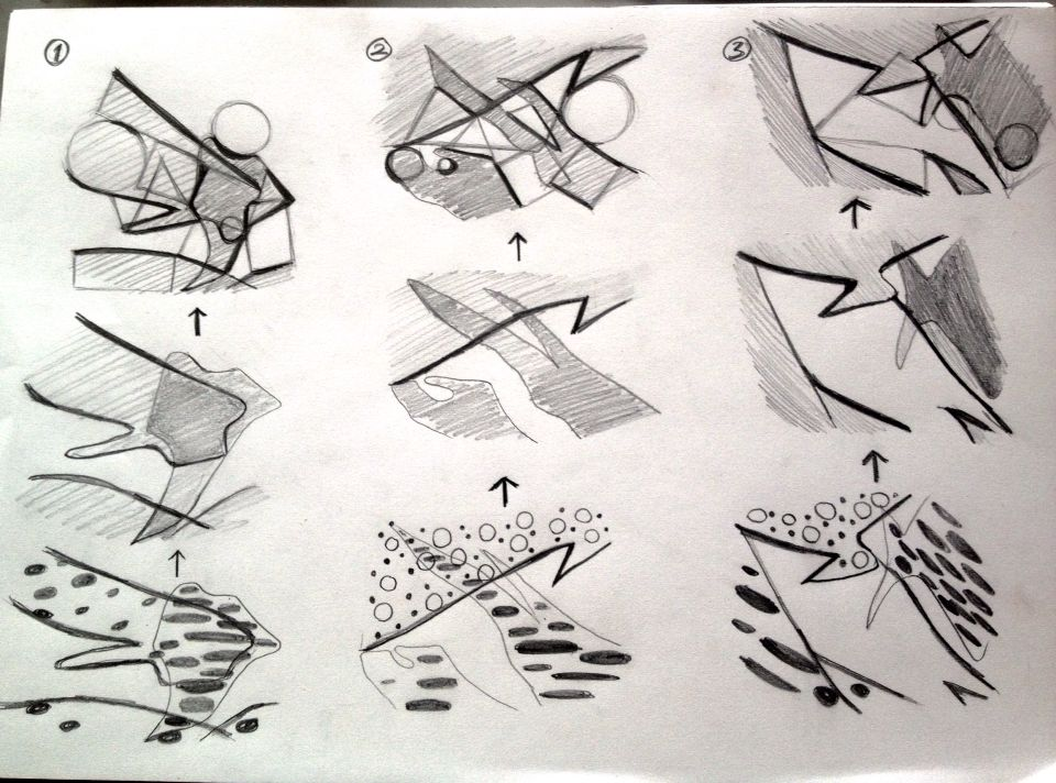 Experiments on Dots, Lines & Shapes
