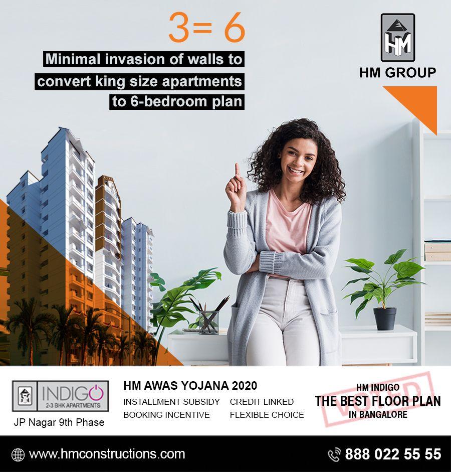 Hm Indigo Minimal Invasion Of Walls Top Real Estate Companies Bangalore City Property Design