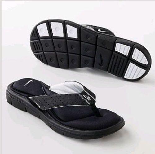 35c2de763429 Nike-354925-011-Womens-Comfort-Flip-Flops-Black-White-Womens -5-6-7-8-9-10-11-12