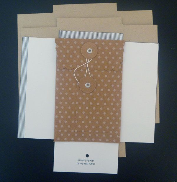 kraft envelopes - template indicated but not really included - sample a2 envelope template
