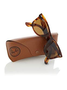 2aca562f0b45 Ray-Ban Unisex RB2140 Wayfarer Sunglasses - House of Fraser ...