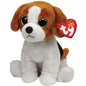 Ty Beanie Baby Banjo Plush - Beagle,$6.09