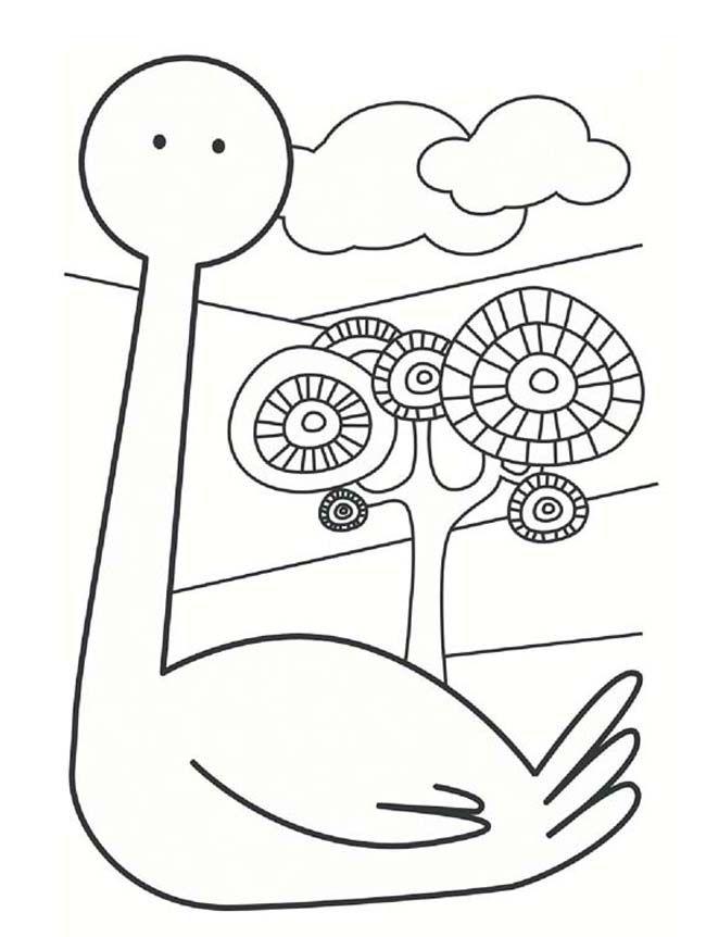 Leylek Yapimi Okuloncesitr Preschool Kus El Isleri Sanat Boyama Kitaplari