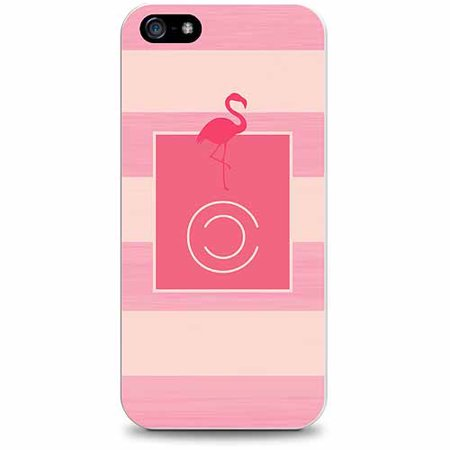 Otm Critter Collection Apple iPhone 5 Case, Stripes, Pink