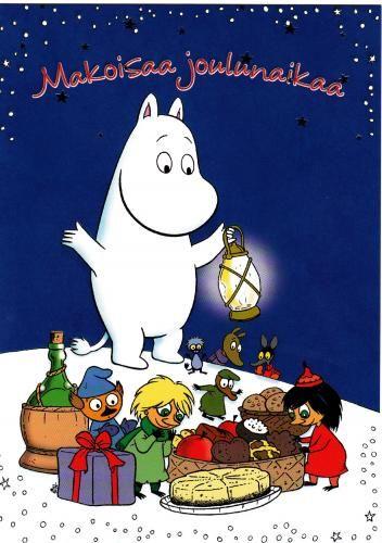 Makoisaa joulunaikaa pinterest mumins - Niedliche weihnachtskarten ...