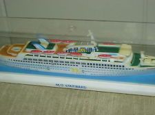 Vintage Plastic Model Replica MS Starward My GreatAunt Took The - Starward cruise ship