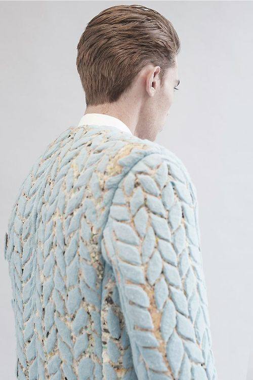 texture/ mens knitwear/ pastel. photographed by Irino Dementer