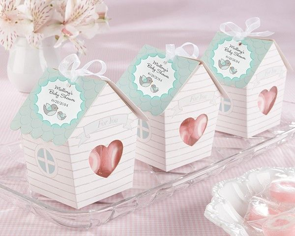 Home Tweet Home Favor Boxes- Set of 24 - Baby Shower Ideas