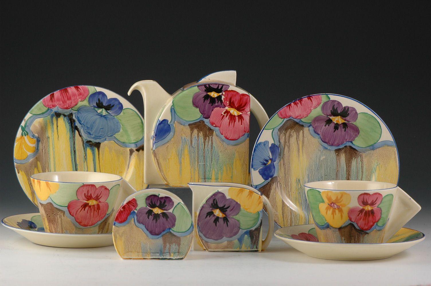 Clarice Cliff Moorcroft Art Deco Ceramics For Sale Clarice Cliff Pottery Art Pottery