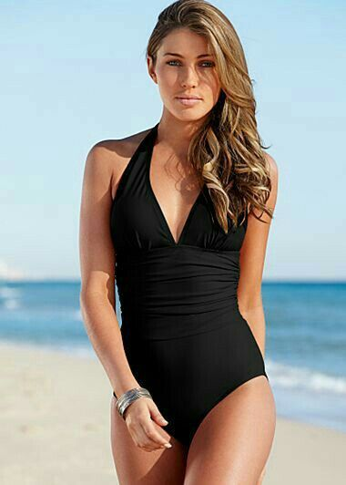 61339802f21f5 Pluz One Piece Swimsuit Slimming, Halter One Piece Swimsuit, Venus Swimsuit,  Swimsuit Styles
