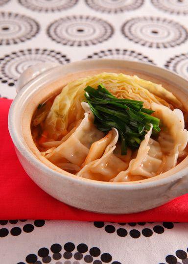 コク旨!キムチ餃子鍋 のレシピ・作り方 │ABCクッキングスタジオのレシピ | 料理教室・スクールならABCクッキングスタジオ