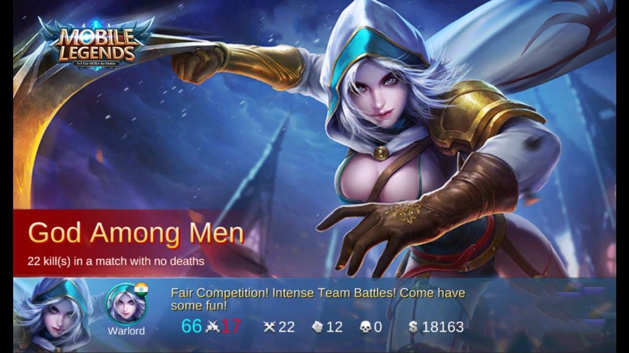 Natalia Mvp Mobile Legends Kda  God Among Men Build