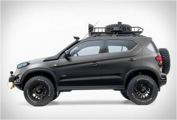 Chevrolet Niva Concept Chevrolet Suv Chevrolet Trax