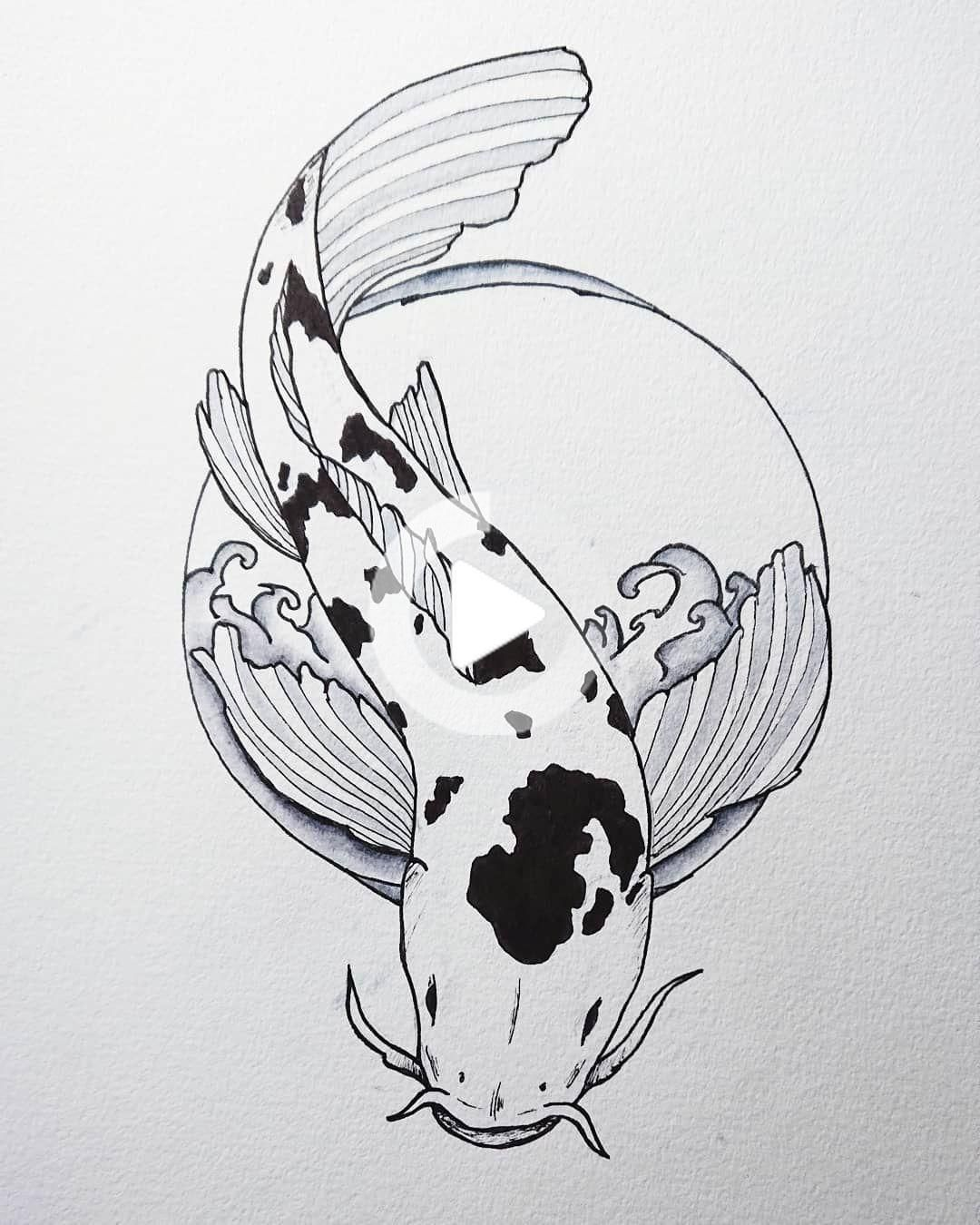 Un d'une simple et agréable pour finir ce mois-ci. . #art #artist #pen #ink #tattoo #irezumi #Japan #linework #koi #fish #water #style #progress #drawing #draw #artwork #Japanese #illustration #inkart #blackandwhite #graphic #Design #inked #tattooed #concept #linework #asia #Toronto #Niagara #flower #artifection @ artifection.ink #dessindetatouage