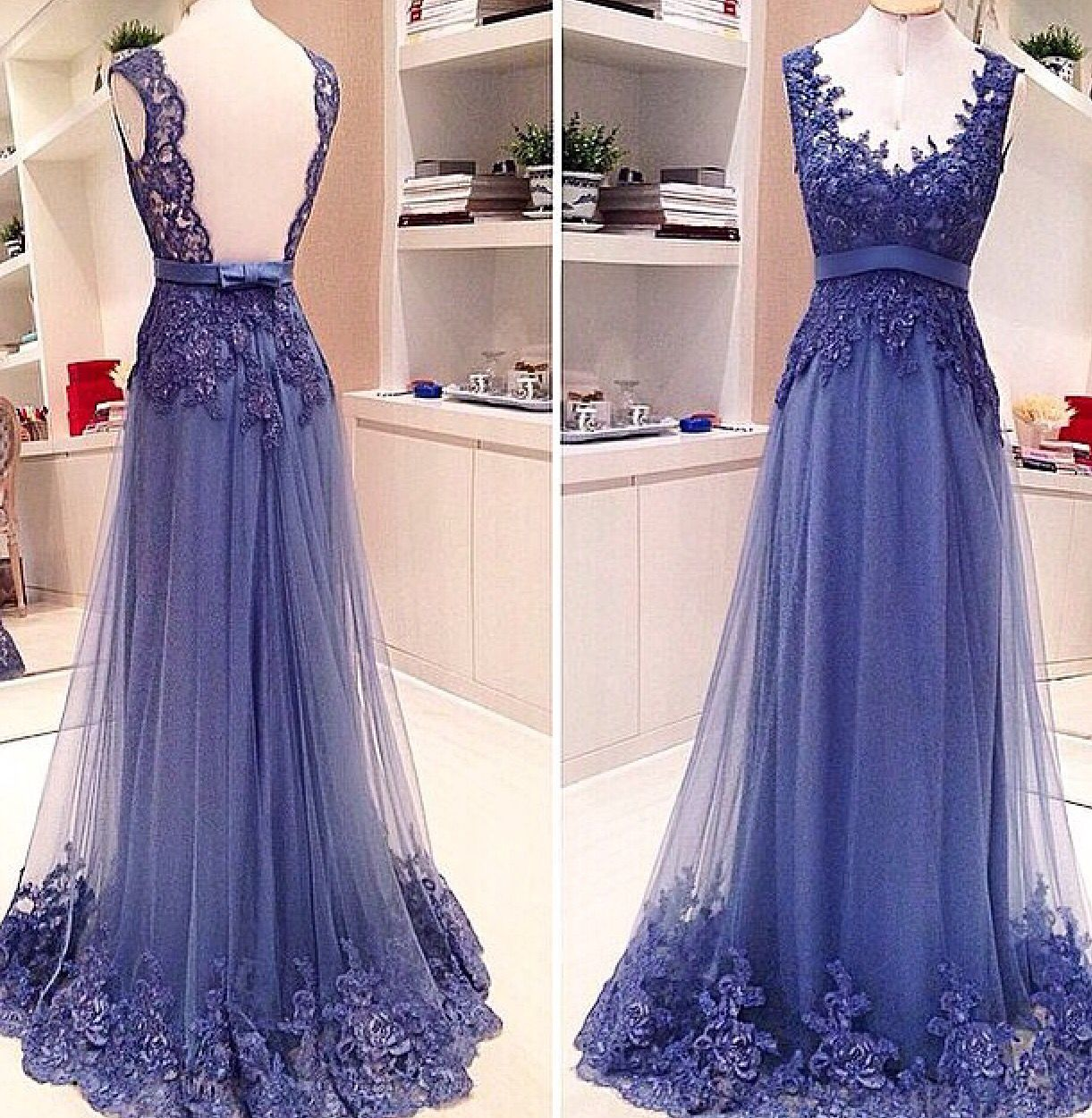 Tule bordado estilo pinterest prom banquet dresses and gala