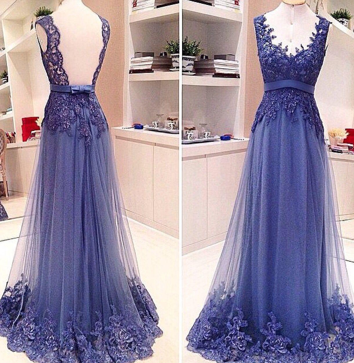 Tule bordado estilo pinterest prom banquet dresses and gala