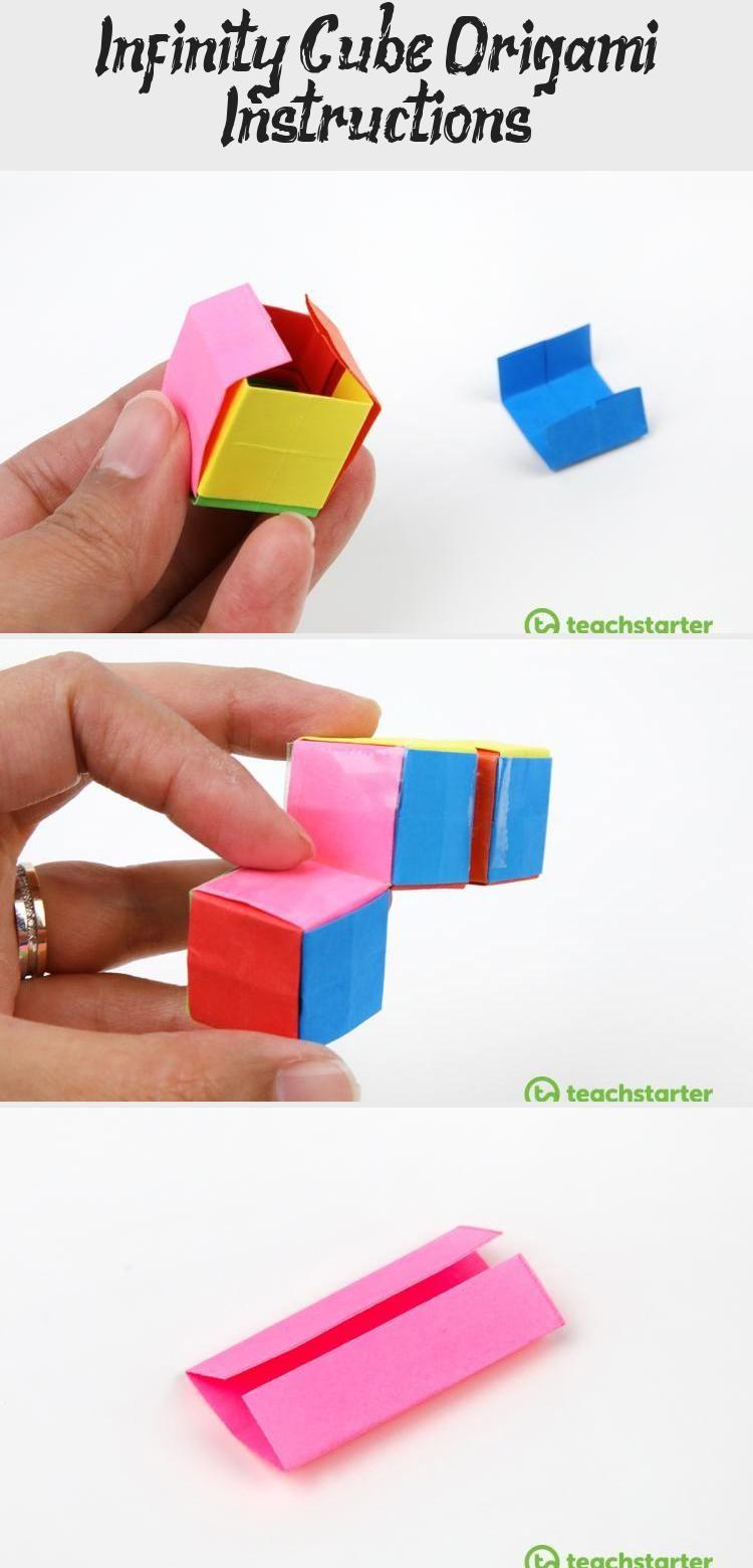 Photo of Infinity Cube Origami Anleitung #origamiUnicorn #origamiTurtle #origamiGrue # …