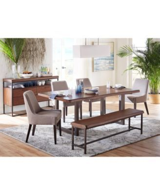 Everly Live Edge Dining Furniture Collection, Created for