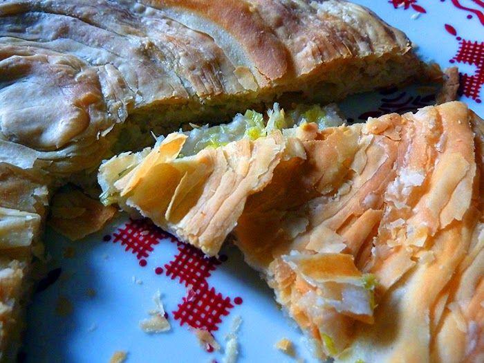 AAA ACCADEMIA AFFAMATI AFFANNATI: Non (pane uzbeko) sfogliato, con cipollina fresca