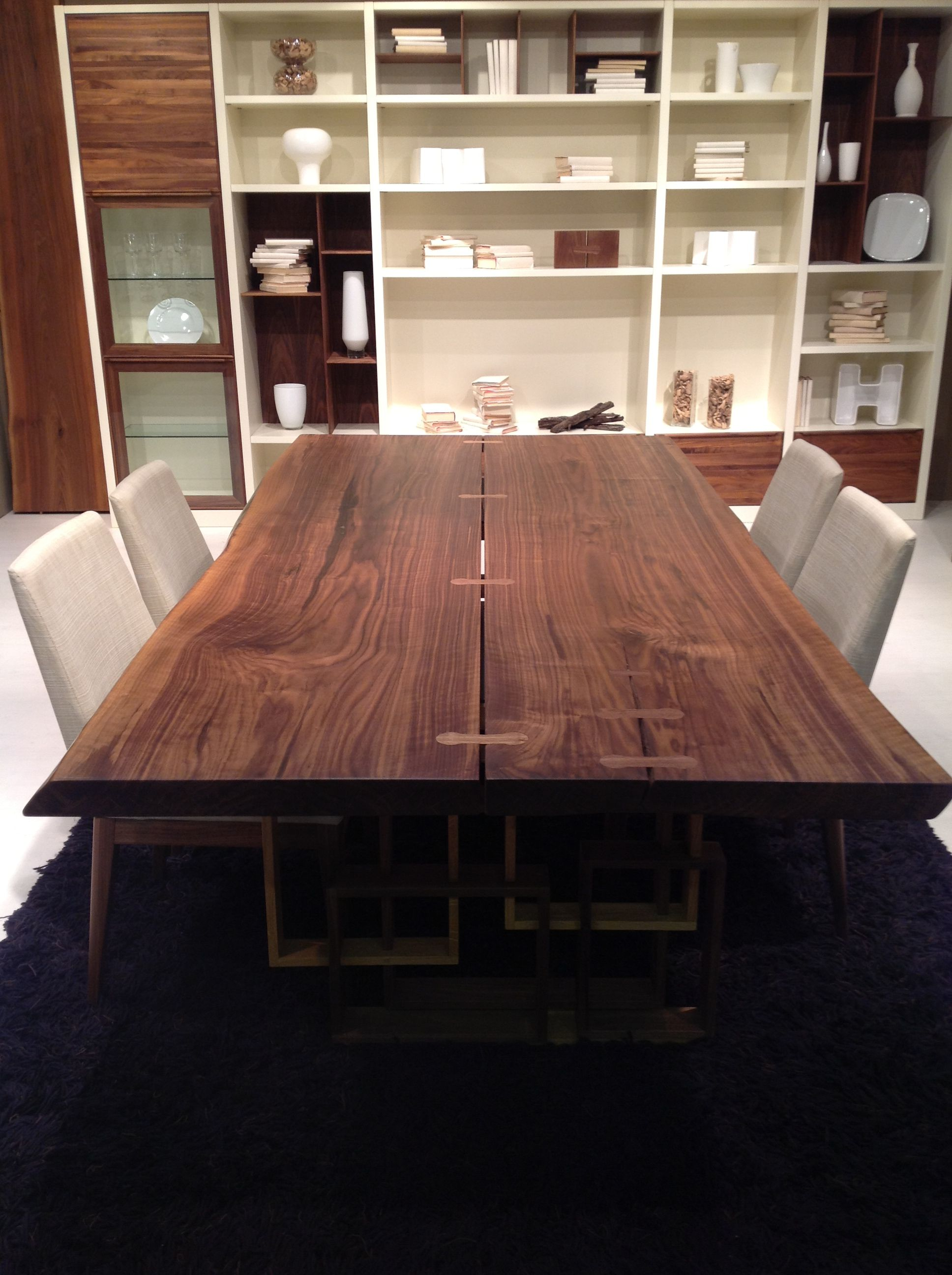 Mobili brotto ~ Tavolo in legno massello di noce styl eco by arte brotto