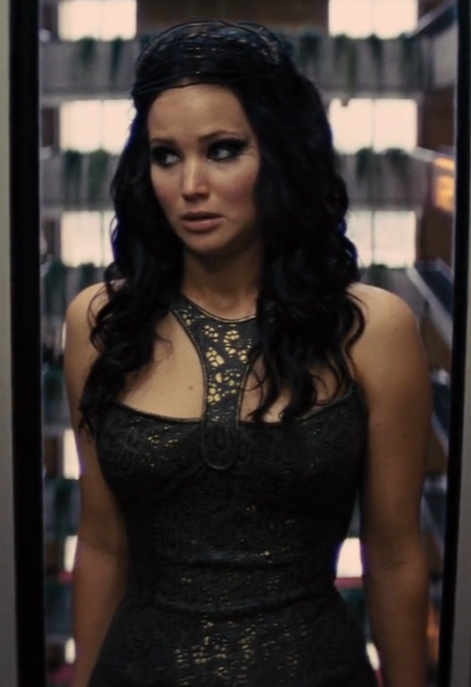 katniss everdeen hairstyle katniss everdeen long dark