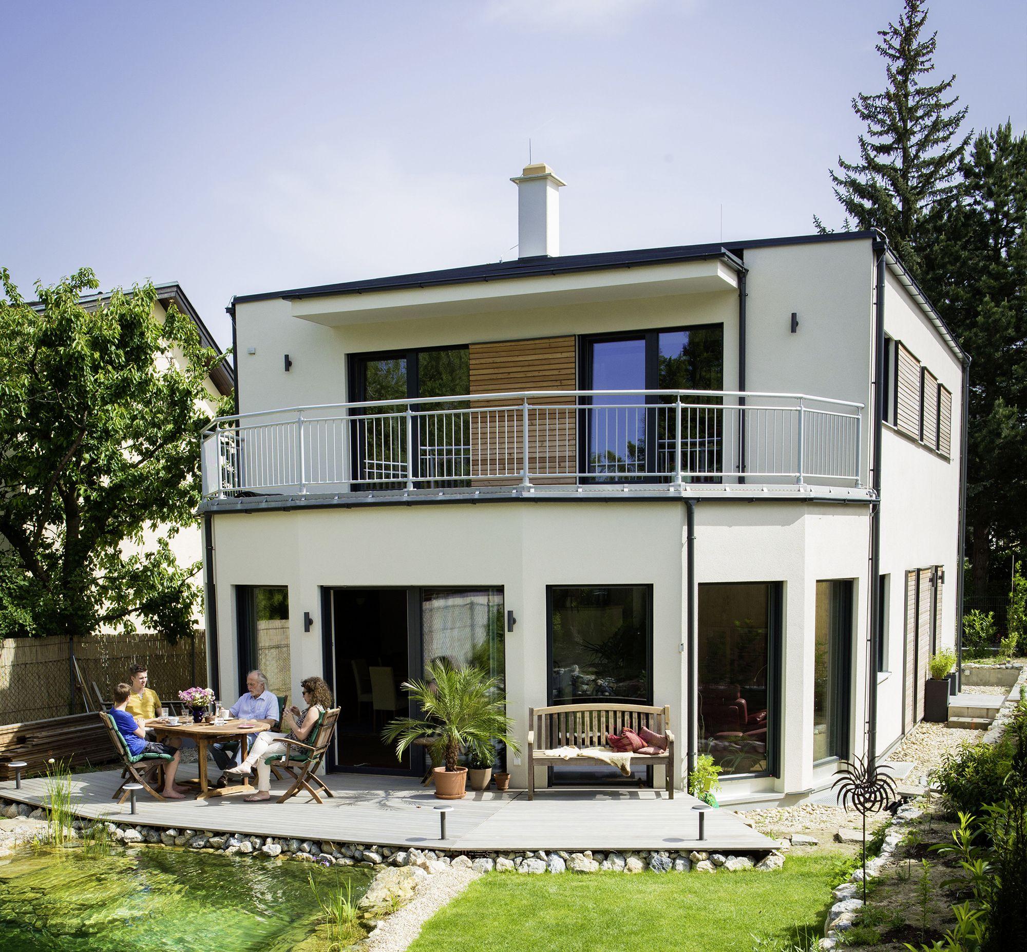 Neubau Einfamilienhaus Flachdach: Familie Padiwy Aus Wien, Österreich