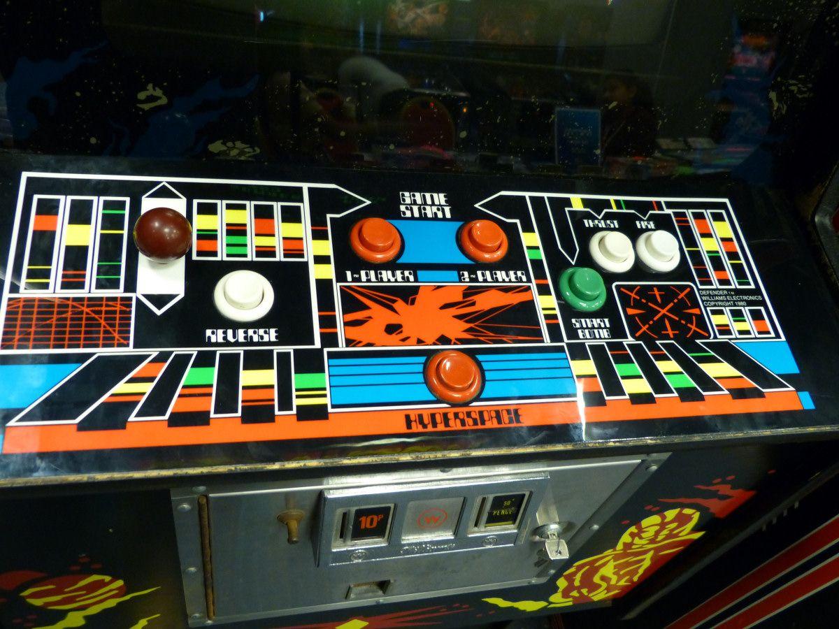 Williams Defender control panel | Retro Nerd Fever | Arcade