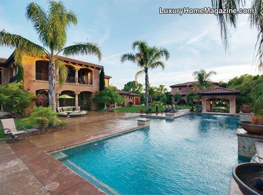 Luxury Home Magazine Sacramento #Luxury #Homes #Pools #Backyards #Design