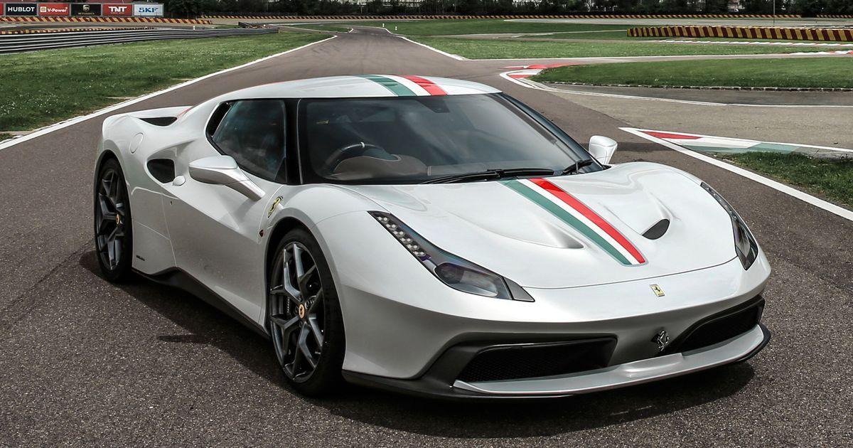 Ferrari Just Built A One Off Supercar For A Very Lucky And Rich British Buyer Ferrari 458 Ferrari Super Cars