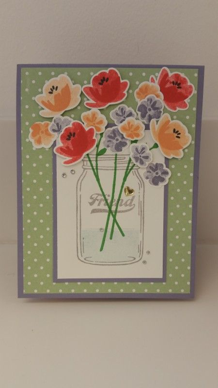 Pop-Up Panel Card by D. Daisy - Cards and Paper Crafts at Splitcoaststampers