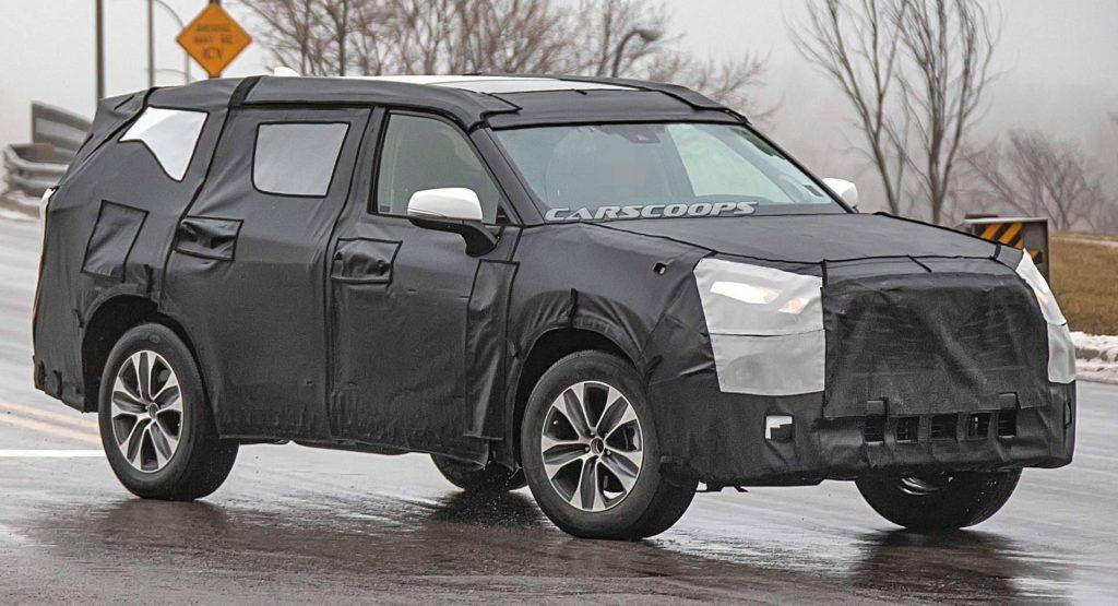 2020 Toyota Highlander Drops Strange Cardboard Camo Reveals Rav4