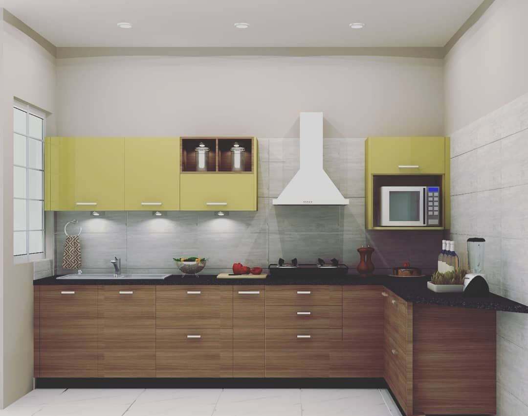 Yuva Laminate Sleek Asianpaints Sleek Kitchen Kitchen