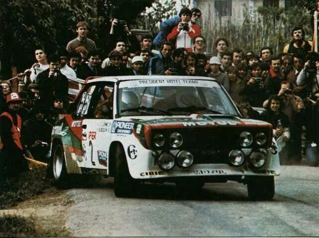 Fiat 131 Abarth Beguin Lenne 4 Regioni 81 Con Immagini Auto Da